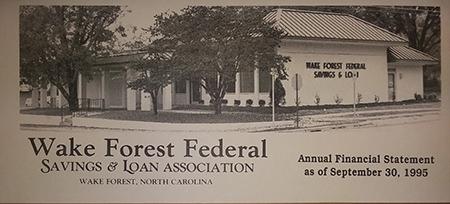 Wake Forest Federal 1995